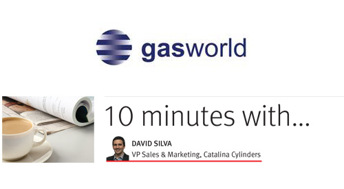 Read about Catalina Cylinders in Gasworld's July Issue
