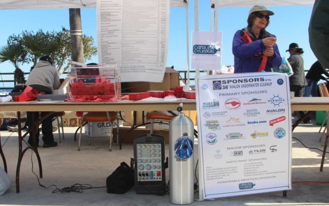 Catalina Cylinders Donates SCUBA Cylinder To  WIES–CCD's 38th Annual Avalon Harbor Underwater Cleanup